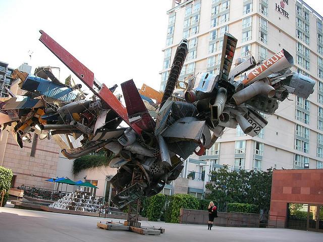 Metal Sculpture Los Angeles