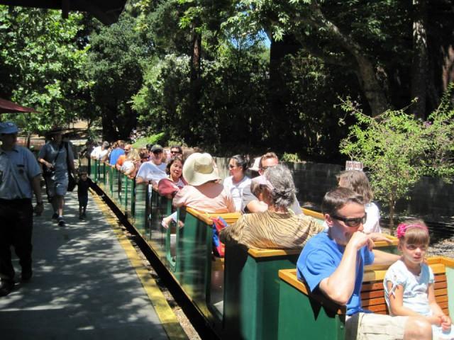10.Ride the Rails or the Carousel at Vasona Park