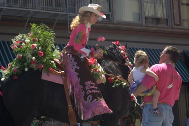 Rose Parade - Sam Churchill