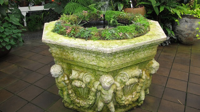 conservatory urn