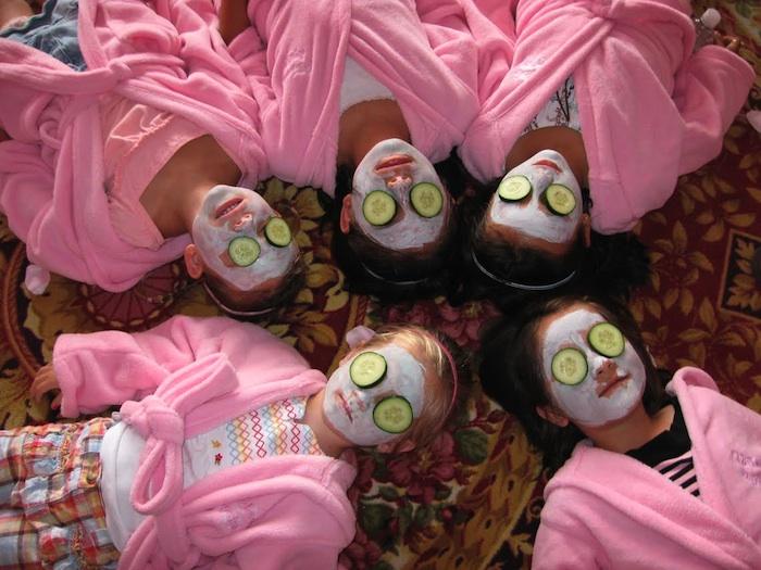 Spa princesses at GreenBliss EcoSpa