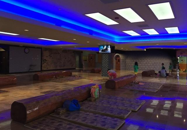 Spa Palace LA has a co-ed family area